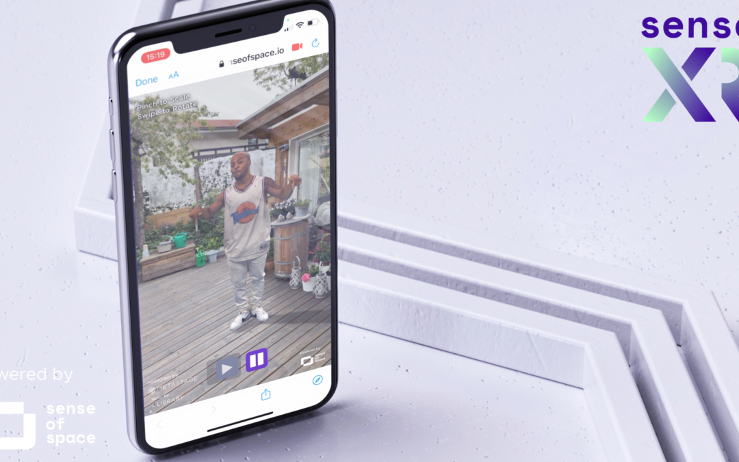 Sense XR Beta Is Here: Publishing Holograms To The Web Has Never Been Easier