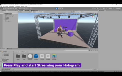 Stream Your Holograms Into Unity
